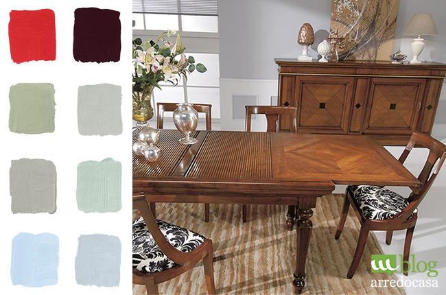 Pareti arancioni colore mobili design casa creativa e - Come pitturare i mobili della cucina ...