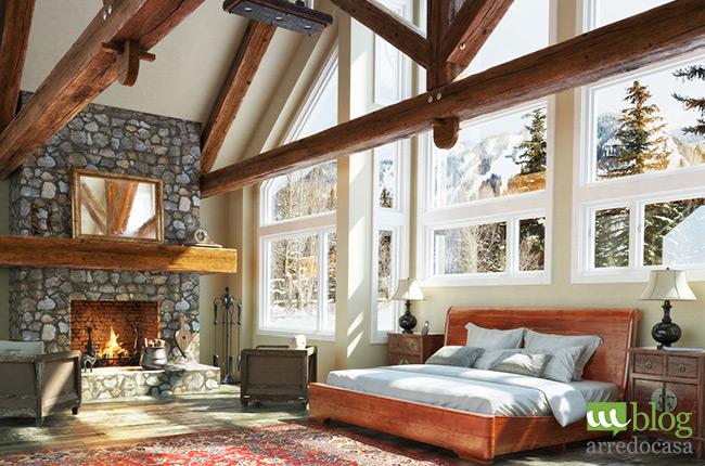 Arredamento Casa Di Montagna : Come arredare una baita in montagna m