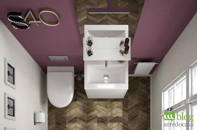 Bagno di servizio arredo semplice e pratico m blog for Mobile bagno salvaspazio