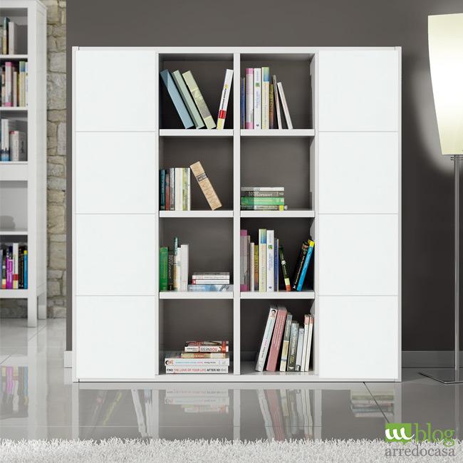 Librerie componibili pratiche ed economiche m blog for Libreria a muro bianca