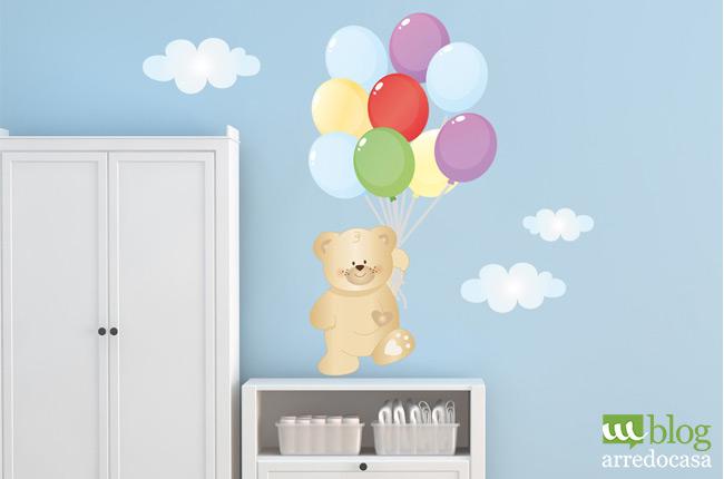 Come arredare la camera dei bambini m blog - Decorare camera bambini ...
