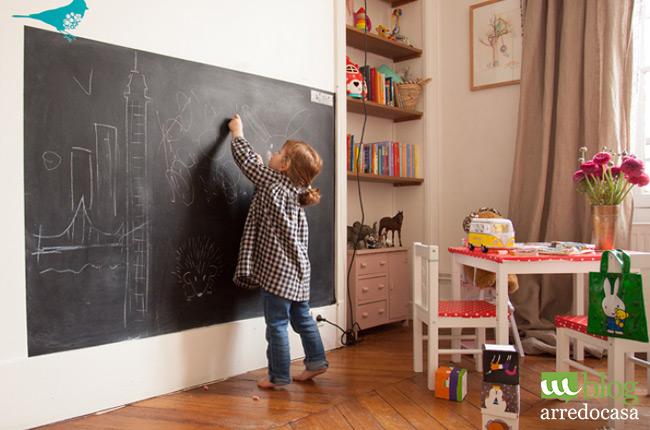 Come arredare la camera dei bambini m blog - Vernice plastica per muri esterni ...