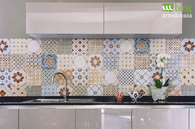 Piastrelle in ceramica e gres porcellanato art di supergres tile