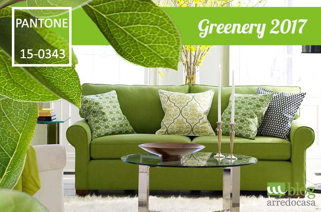Pantone greenery scopriamo il colore dell 39 anno 2017 m blog for Verde pantone 2017