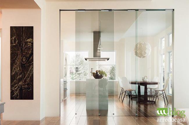 pareti divisorie e porte in vetro per cucina e soggiorno - m.blog - Muri Divisori Cucina Soggiorno 2