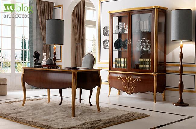 Mobili classici per ufficio e studio professionale come - Mobili classici di lusso ...