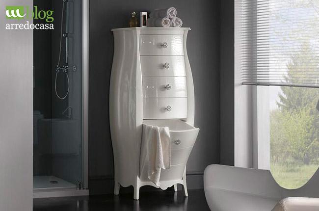 Come organizzare i mobili bagno 3 trucchetti per te m blog - Portabiancheria design ...