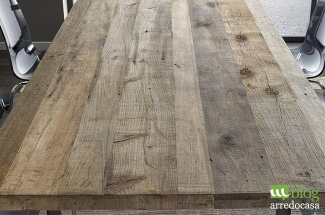 Legno e vetro i punti di forza dell 39 arredamento - Mobili legno vecchio ...