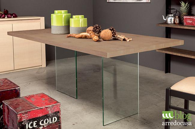Tavoli In Legno E Vetro : Legno e vetro i punti di forza dell arredamento contemporaneo m