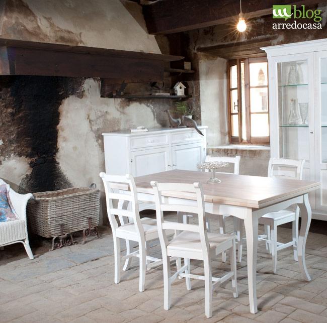 Arredamento shabby per la tua cucina quali mobili for Soggiorno shabby
