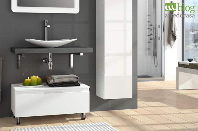 Mobili bagno moderni sospesi 4 soluzioni per te m blog - Mobile bagno per lavabo da appoggio ...