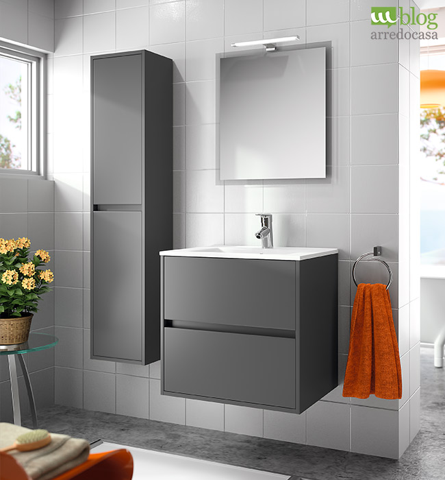 mobili bagno moderni sospesi: 4 soluzioni per te - m.blog - Arredo Bagno Sospeso