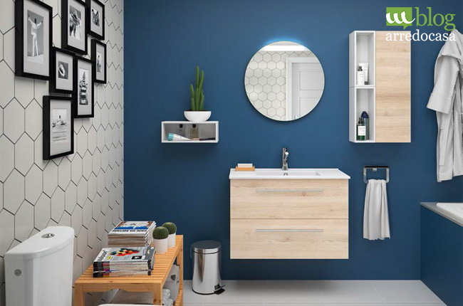 mobili bagno moderno sospesi mobile bagno moderno sospeso legno con lavabo mm cassetti fussion. Black Bedroom Furniture Sets. Home Design Ideas