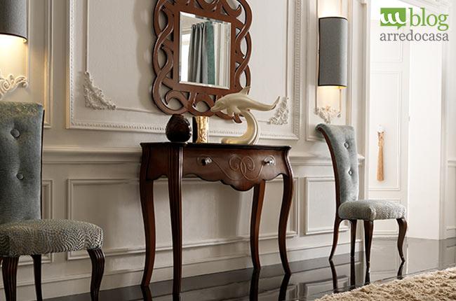 Arredare luingresso con mobili classici alcuni consigli for Arredare con mobili antichi e moderni
