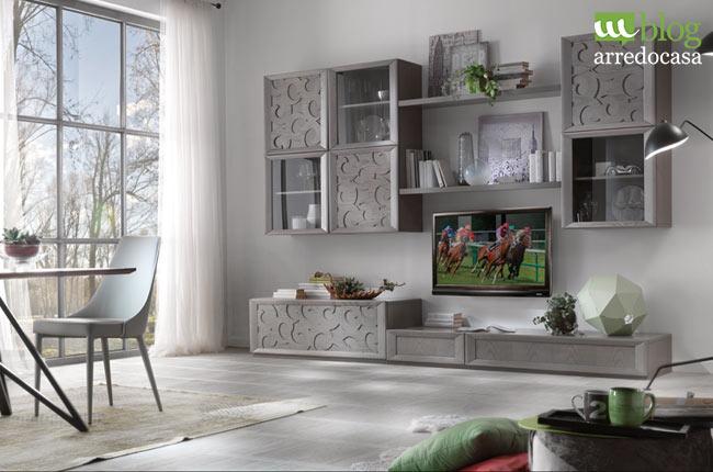 Pareti attrezzate modulari o con struttura fissa m blog for Come arredare una parete attrezzata