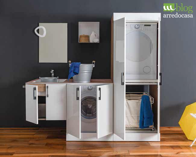 Arredamento lavanderia: praticità e organizzazione degli spazi - M.Blog