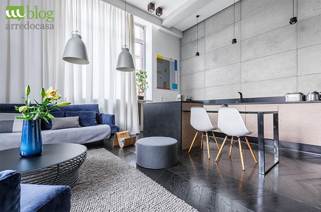 Angolo Cottura Soggiorno : Come arredare un soggiorno piccolo con angolo cottura m.blog