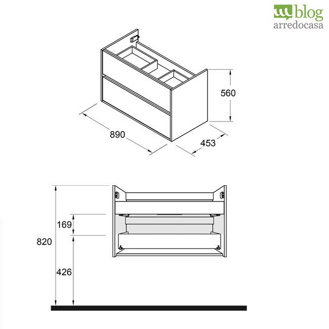 Come montare i mobili bagno sospesi - M.Blog