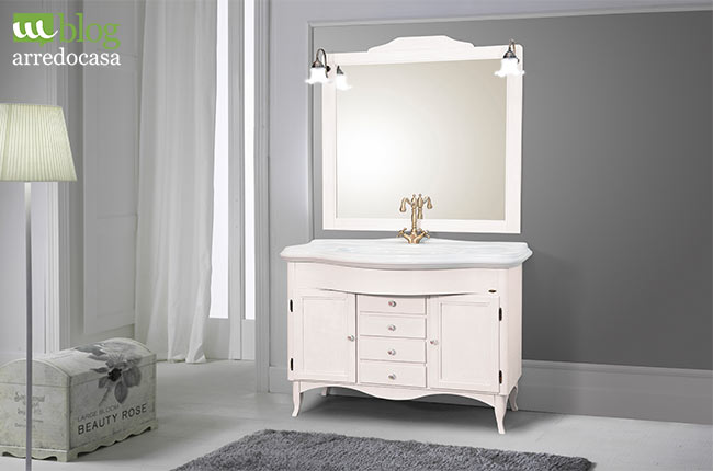top excellent come scegliere i mobili bagno in stile shabby chic with decapare mobile with come. Black Bedroom Furniture Sets. Home Design Ideas