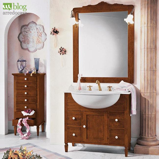 Moderno vs arte povera come scegliere il mobile bagno - Mobili bagno arte povera ...