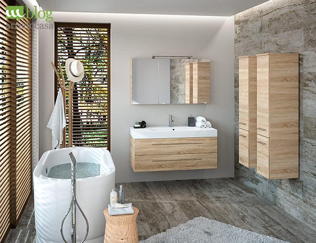 Moderno vs arte povera come scegliere il mobile bagno for Mobile bagno rustico moderno