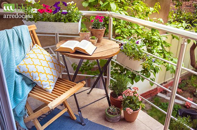 Come arredare il balcone di casa m blog for Arredare il balcone