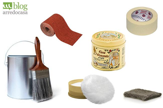 Top occorrente per verniciare i mobili in stile provenzale - Laccare ante cucina ...