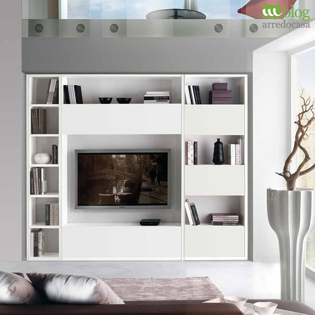 Arredamento minimal chic perch less is more m blog for Parete attrezzata bianca e nera