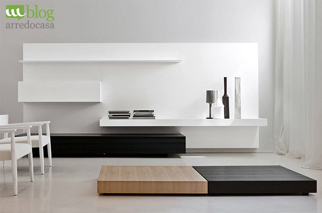 Arredamento minimal chic perch less is more m blog for Arredamento moderno minimal