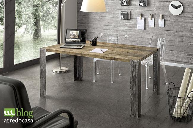 Tavolo Design In Legno : Tavoli industrial design il fascino del legno la solidità del