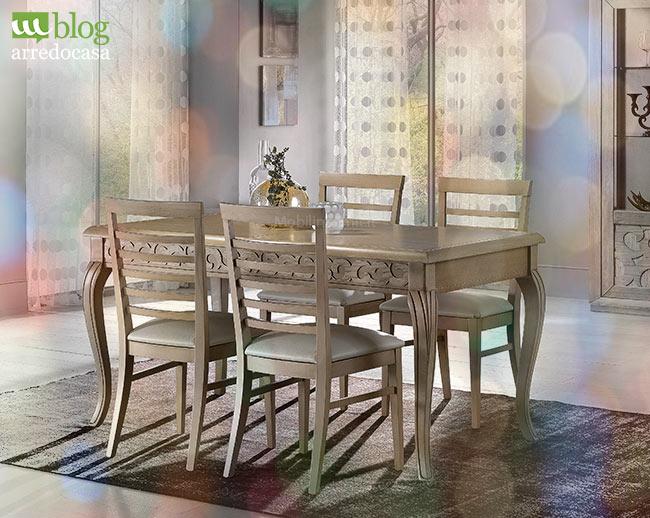 Come addobbare la tavola per il pranzo di natale m blog - Tavola da pranzo allungabile ...