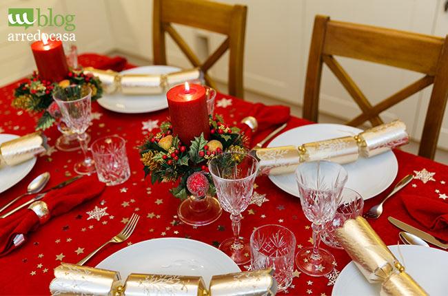 Addobbare Tavola Di Natale Immagini.Come Addobbare La Tavola Per Il Pranzo Di Natale M Blog
