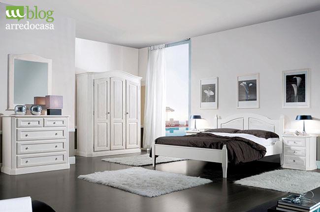 Camera da letto bianca: 3 buoni motivi per sceglierla - M.Blog