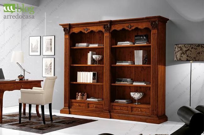 Arredare uno studio legale classico moderno e for Arredare libreria