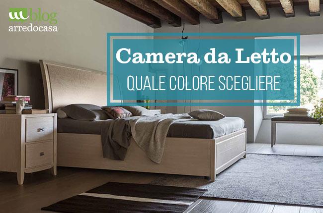Quale colore scegliere per la camera da letto - M.Blog