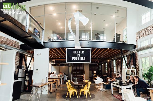 6 Consigli Per Arredare Un Ufficio In Stile Industrial M Blog