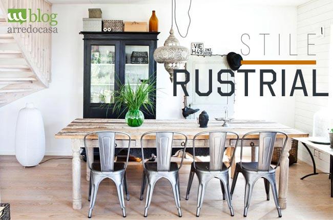 13014468d3b9 Stile rustrial  l industrial design incontra il gusto rustico