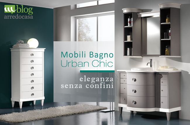 Mobili bagno in stile urban chic: l\'eleganza non ha confini ...