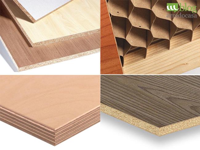 Quali sono i materiali utilizzati nella realizzazione dei for Materiali mobili