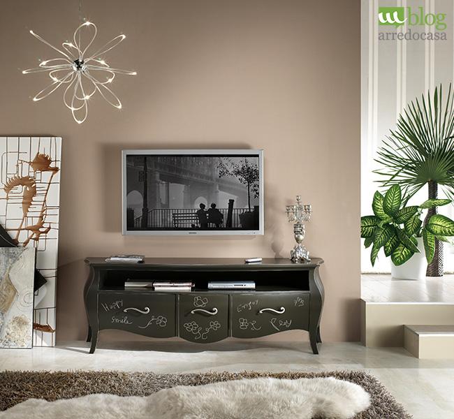 3 idee fai da te con la vernice lavagna m blog - Porta televisore classico ...