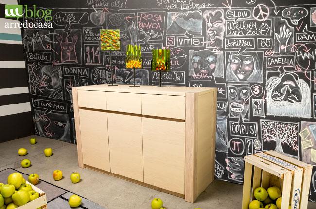 Interesting i muri di casa con la vernice lavagna with - Decorazioni sui muri di casa ...