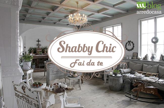 Arredamento Shabby Chic Fai Da Te Foto Video Pourfemme Pictures to pin ...