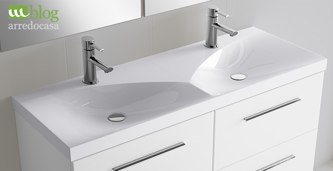 Mobili bagno con doppio lavabo pro e contro m blog - Mobile bagno con doppio lavabo ...