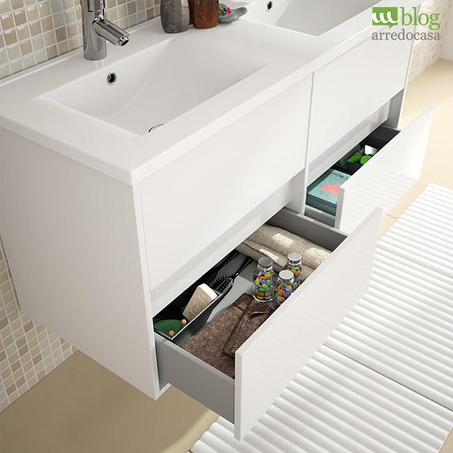 Mobile Bagno Sospeso Doppio Lavabo ~ Il meglio del design degli interni