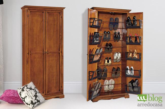Ordine e stile con la scarpiera giusta - M.Blog