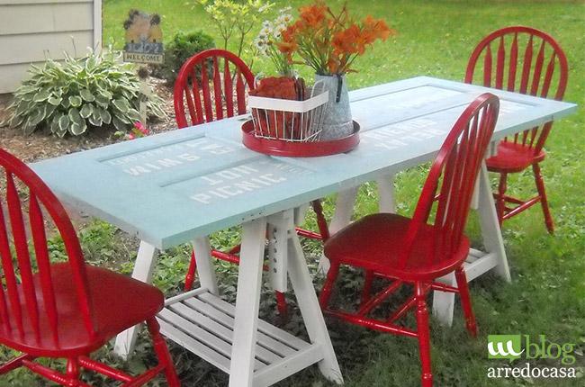 Tavolo Giardino Fai Da Te.Come Realizzare Un Tavolino Da Caffe Per Il Tuo Giardino M Blog