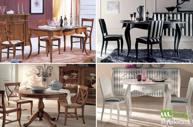Come abbinare le sedie al tavolo da pranzo m blog for Sedie da tavolo moderne