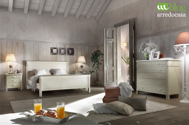 Arredare Camera Da Letto Stile Country : Arredare la camera da letto in shabby chic m
