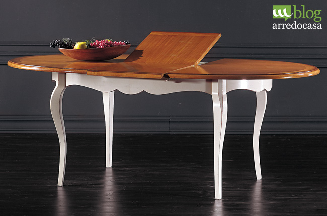 Tavolo bicolore allungabile per la tua cucina scegliere - Tavolo per cucina allungabile ...