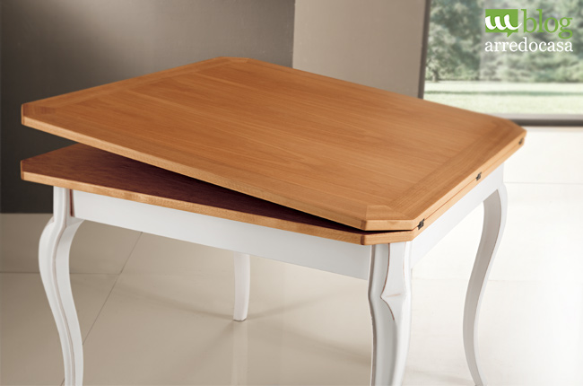 Scopri la comodità di un tavolo a libro - M.Blog